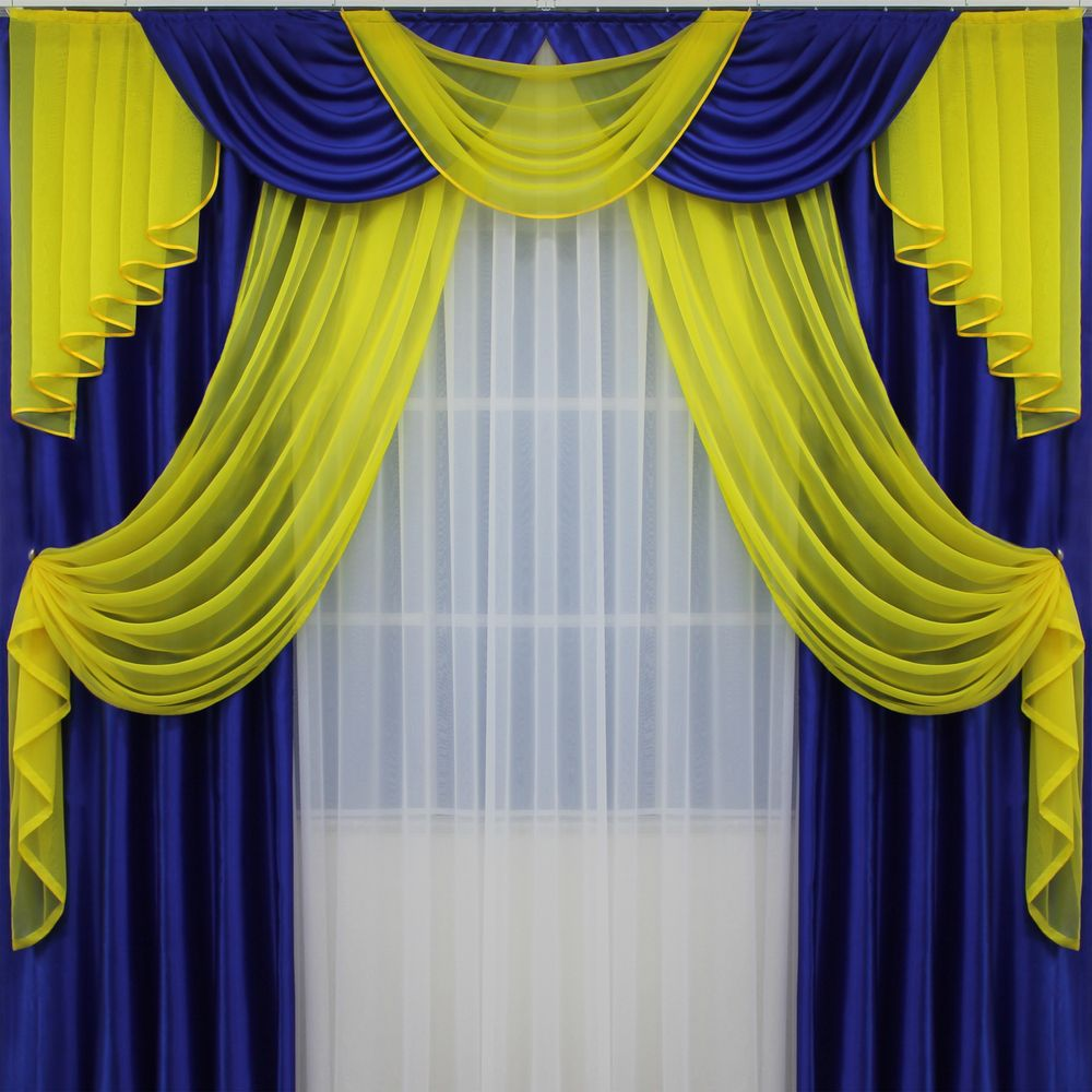 джульетта-2.5м-синяя-желтая