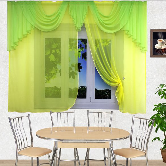 кухня-заря-жёлтый-салатный