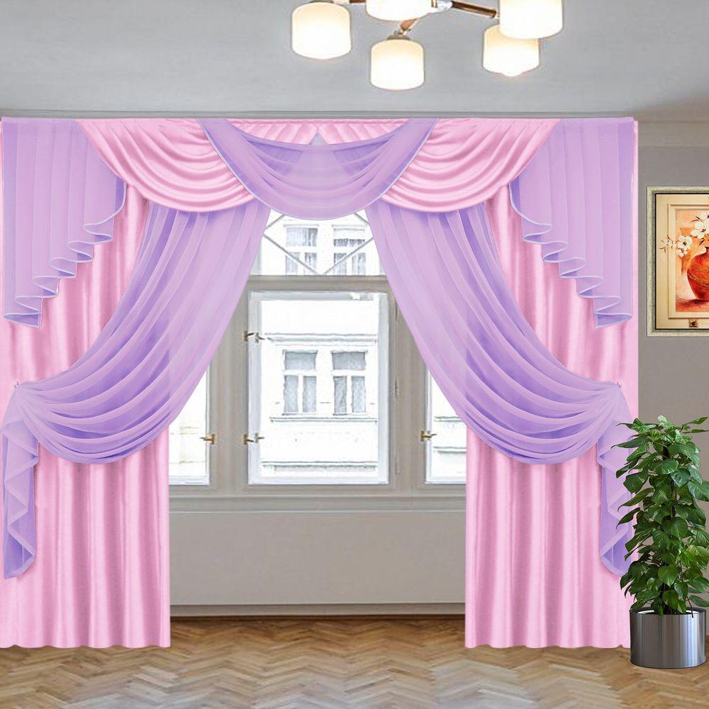 джульетта 2,5 м розовый-сиреневый