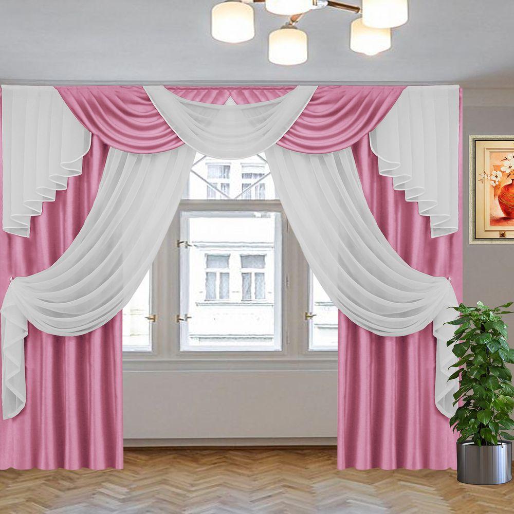 джульетта 2,5 м т. розовый-белый