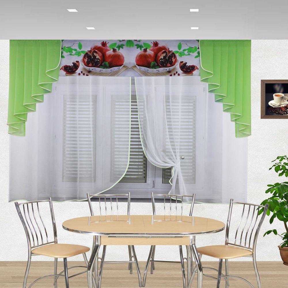 кухня ассорти зеленый 3019
