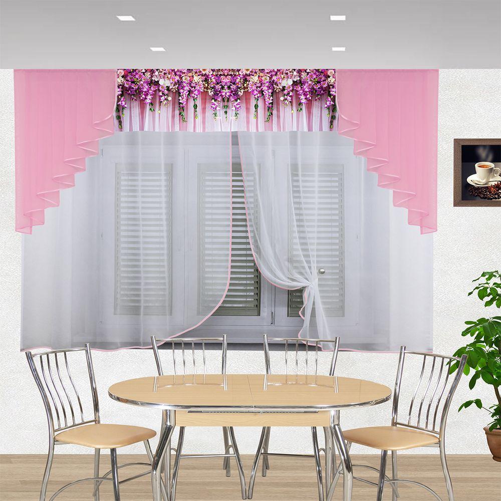 кухня ассорти розовый 6191
